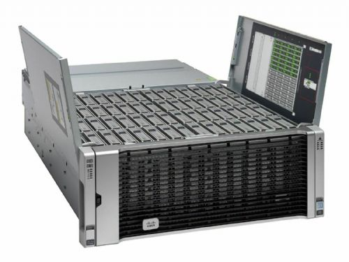 Cisco UCS C3260 2 x C3X60 Nodes 2x10-CORE 2.20GHz 512GB 224TB HDD Storage Server - 202855605897